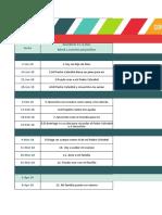 Cronograma de Clases Primaria 2018 - ConexionSUD