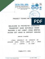 03 - 04.11.2014 - Proiect Tehnic Vertatel Gaze Pasaj Arad