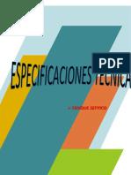 Especificaciones Tanque Septico y Pp