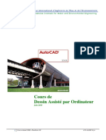 Support Cours DAO-Autocad 2008