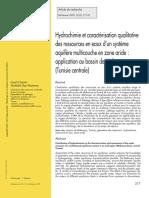 Sec-281584-Hydrochimie Et Caracterisation Qualitative Des Ressources en Eaux Dun Systeme Aquifere Multicouche en Zone Aride Application--WfdqFn8AAQEAAAlRXi4AAAAO-A