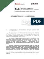 Alexandre Santos de Aragão - Serviços Públicos e Concorrência