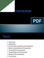 Fermentor Design 1