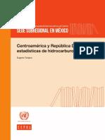 Centroamérica y República Dominicana_estadísticas de Hidrocarburos_2016