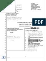 James Damore v Google - Class Action Complaint