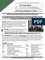 Cox News Volume 7 Issue 15