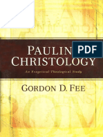 59422330 Pauline Christology G D Fee