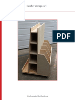 WWMM Lumber Storage Cart