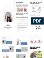 pamflet OSTEOARTRITIS