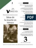 La idea de la muerte en MéxiCO