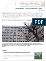 20160414 Caloryfrio Madrid Recomienda Individualizar La Calefaccion Central