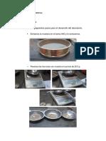 Procedimiento Limite Liquido y Plastico
