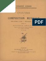 Vincent d'Indy - Cours de Composition Livre 2 Partie 2 - Page 204 cours sur Quintette de Franck.pdf