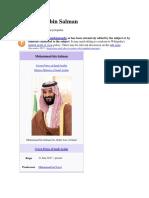 Mohammad Bin Salman