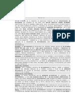 Anticresis Modelo