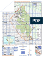 Mapa de Comunidades Nativas Pangoa