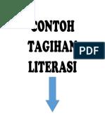 CONTOH TAGIHAN LITERASI