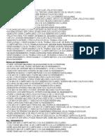 Modelo de Apreciaciones Listas