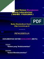 3dokumen Sistem Manajemen Mutu Laboratorium