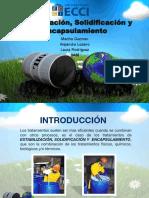Exposcion Estabilizacion ,Solidificacion y Encapsulamiento.pptx