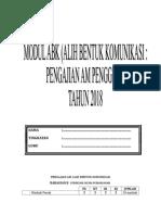 Bahagian B P2 - Alih Bentuk Komunikasi