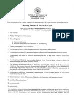 Columbus City Council 1.8.2018 Media Agenda Packet