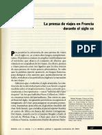 Sylvain Venayre_La Prensa de Viajes en Francia