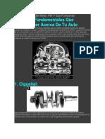 Algunas Partes Del Motor VW Y Sus Funciones