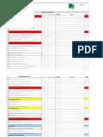 FCA-001 Checklist de Auditoria Interna(1)