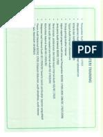 Sertifikat ISO 17025 Tampak Belakang