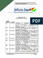 Actualizacion normativa al 06 de Enero de 2018