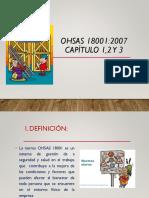 1º. OHSAS 18001-2007 - Capitulo 1%2c 2 y 3