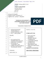 Complaint, LegalForce v. MyCorporation Business Services, Inc. & Deborah S. Sweeney