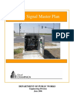 Traffic Signal Master Plan