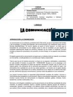 I Sesión Comunicación I
