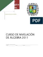 Cuadernillo +algebra 2011 (alumno)