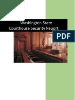 Washington Courthouse Security Report