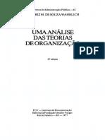 Uma Análise Das Teorias de Organização (Fgv)