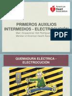 Primeros Auxilios - Electrocución copia
