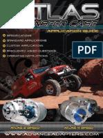 Atlas Transfer Case Application Guide
