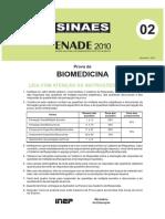 Biomedicina 2010 - Prova.pdf