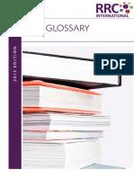 RRC Glossary