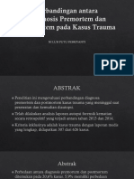 Perbandingan Diagnosis Forensik