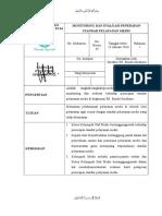 Sop Monitoring Dan Evaluasi Penerapan Standar Pelayanan Medis