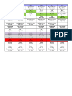 Miller Schedule 10-11