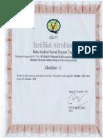 Sertifikat Akreditasi PDF