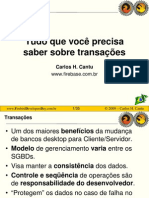 Carlos H Cantu - Tudo Sobre Transacoes