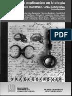HISTORIA Y EXPLICACIÓN EN BIOLOGÍA- SERGIO MARTINEZ ANA BARAHONA copia