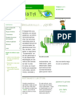 "Eco - Vista Planet "" Desarrollo Sustentable"""