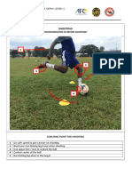 01 Demostration of Shooting in Soccer